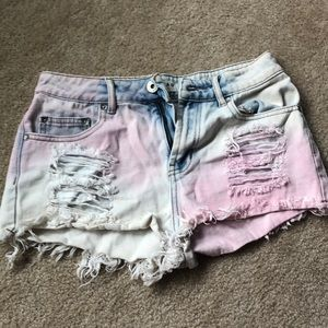 Bullhead Distressed Jean Shorts